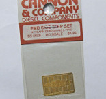 Cannon 2028 HO Scale Detail Part Photo-Etched Brass EMD Side Step Set Athearn Genesis F45 & FP45