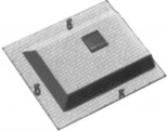Cannon 1353 HO Scale Detail Part EMD Filter Hatches GP/SD39, GP/SD40, SD45 and SD38-2, SD40-2 and SD45-2