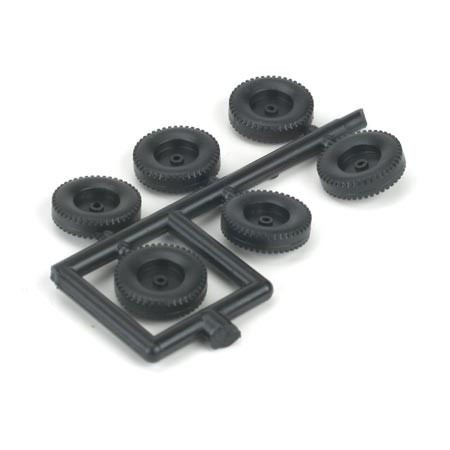 Athearn 55012 TRACTOR TIRE (6) HO Scale