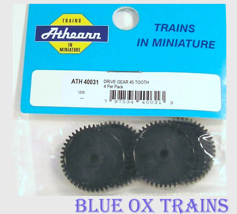 Athearn 40031 45 Tooth Truck Drive Gears HO Scale