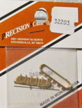 Precision Scale Co PSC 32203 Brass Water Hatch 3 Lid HO Scale