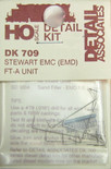 Detail Associates 709 Diesel Detail Kit 'EMC' (EMD) FT-A Unit Stewart Ho Scale