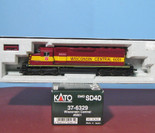 Kato HO EMD SD40 Locomotive Wisconsin Central WC 6001 #37-6329