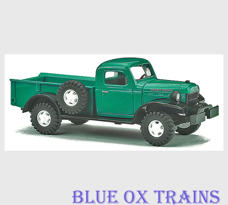 Busch 44000 HO 1945-1968 Dodge Power Wagon 4x4 Pickup Truck - Assembled