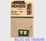 Detail Associates 1407 Diesel Fairbanks-Morse Drop Steps pkg(2) Trainmaster Ho Scale