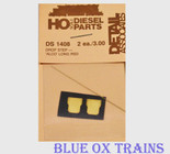 Detail Associates 1408 Diesel Alco Drop Steps pkg(2) Long - RSD Ho Scale