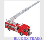 Walthers Scenemaster 13801 Heavy Duty Fire Department Ladder Truck  HO Scale
