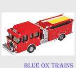 Walthers Scenemaster 13800 Heavy Duty Fire Engine Truck HO Scale