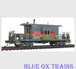 Bluford Shops 31041 Clinchfield Family Lines Transfer Caboose CRR 1110 HO Scale