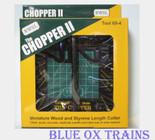 NWSL 69-4 The Chopper ll 2 Miniature Wood & Styrene Cutter Tool