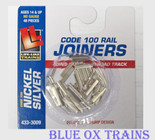 Life Like 3009 Track Rail Joiners 48 pcs HO Scale