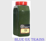 Woodland Scenics 1345 Fine Turf Shaker 32oz - Green Grass