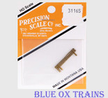 Precision Scale Co PSC 31165 Cooling Coil For 6' Air Tank (Brass) HO Scale