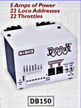 DIGITRAX DB150 DCC COMMAND STATION BOOSTER DB-150
