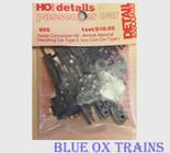 Detail Associates 905 Amtrak Material Handling Car Detail Kit Type II Con-Cor Type I HO Scale