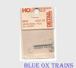 Detail Associates 6602 Passenger Car Grab Irons pkg(12) Roof HO Scale