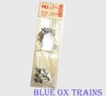Detail Associates 501 Freight Car Detail Kit C&BT Shops 40' Steel Boxcar HO Scale