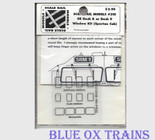 Scale Rail Models 310 Dash 8 or 9 Window Kit - Spartan Cab HO Scale