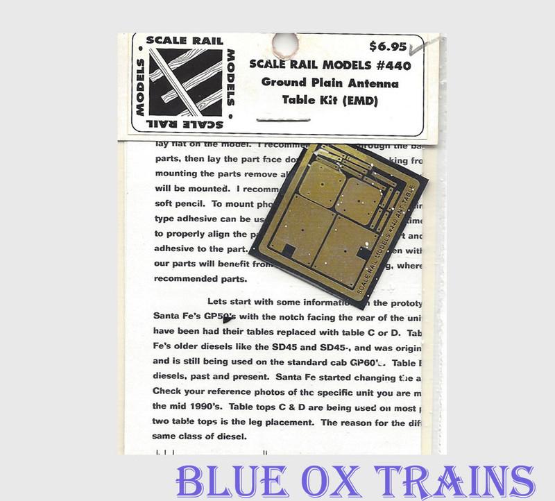 Scale Rail Models 440 Ground Plain Antenna Kit HO Scale