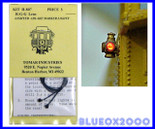 Tomar Industries 807 Adlake Marker R-G-G Lights HO Scale
