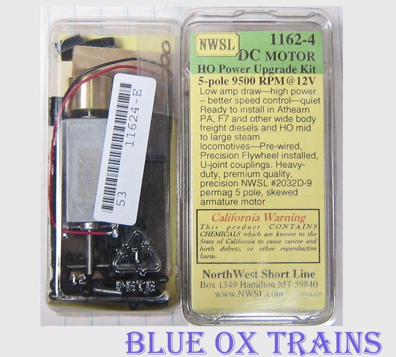 NWSL #1162-4 2030D-9 Power Upgrade Can Motor w/ One Flywheel Kit Narrow Diesels