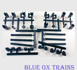 A-Line 12030 Universal Joints & Coupling Assortment HO Scale