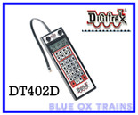 Digitrax DT402D Duplex DCC LocoNet Super Radio Throttle