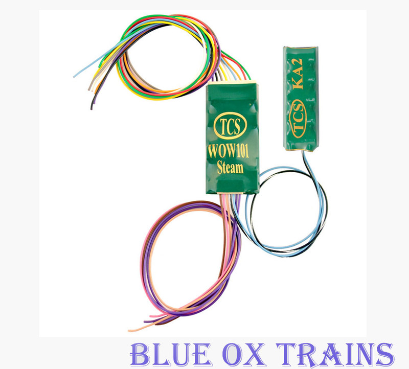 Train Control Systems TCS 1517 WOW101-KA Steam Sound Decoder with Keep Alive HO Scale