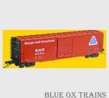 KADEE 6364 HO 50' PS-1 Boxcar Bangor & Aroostook BAR 6024