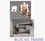 Cal Scale 545 Nathan P3 All bells facing forward 1 pc (Brass Castings) Ho Scale