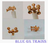 Cal Scale 613 Airhorn Nathan Nathan K3HR3 Air Horn (Brass Castings) Ho Scale