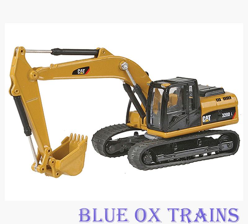 Norscot 55262 Caterpillar Cat 320D L Hydraulic Excavator Tractor - Assembled HO Scale 1:87