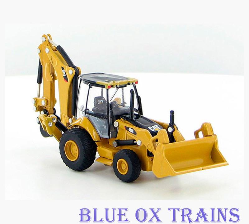 Norscot 55263 Caterpillar Cat 450E Backhoe Loader Tractor - Assembled HO Scale 1:87