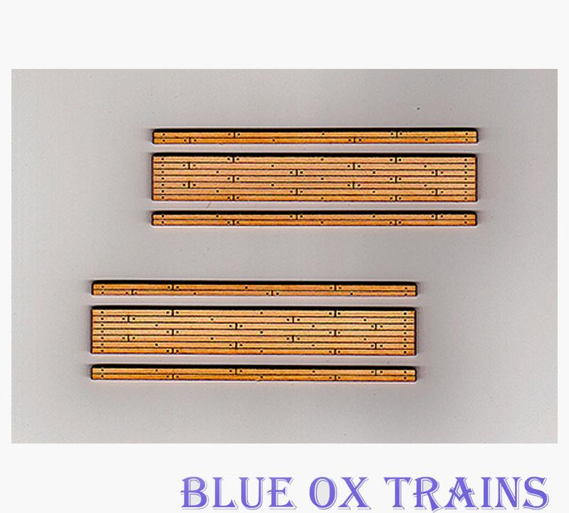 Blair Line 165 Wood Grade Crossing Kit HO Scale