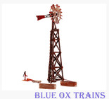 Woodland Scenics 5042 Old Windmill - Built & Ready Landmark Structures(R) HO Scale