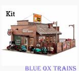 Woodland Scenics #5193 Deuce's Bike Shop - Kit HO Scale
