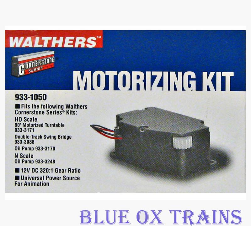 WALTHERS 933-1050 HO/N Turntable - Oil Pump - Bridge Motor Motorizing Kit