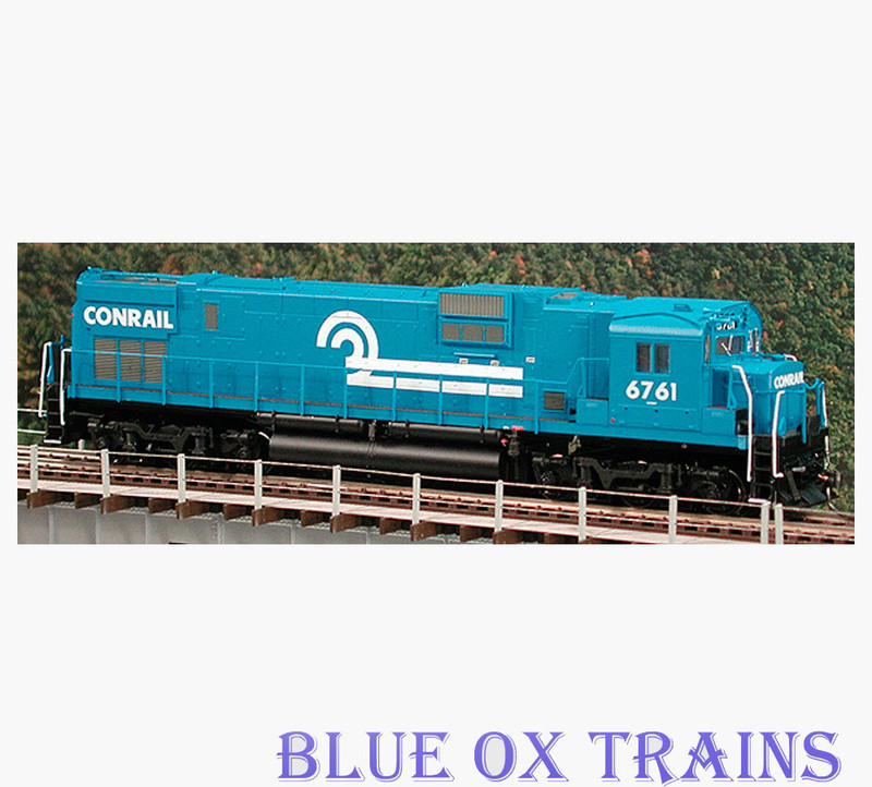 Bowser 23399 Conrail Alco C630 Diesel Locomotive CR 6761 HO Scale