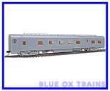 Walthers #932-9320 HO Pullman Standard Lounge Car Undecorated NYC Style