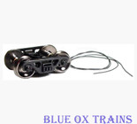 "Ring Engineering PPT-36-T Roller Bearing 36"" Wheels Truck w/Built-In Electrical Power Pick up HO Scale"