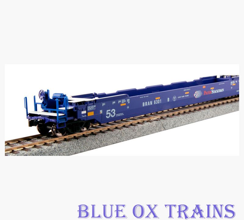 Kato 30-9039 HO Gunderson MAXI-IV Double Stack Well Car Set 6301 - Pacer Stacktrain