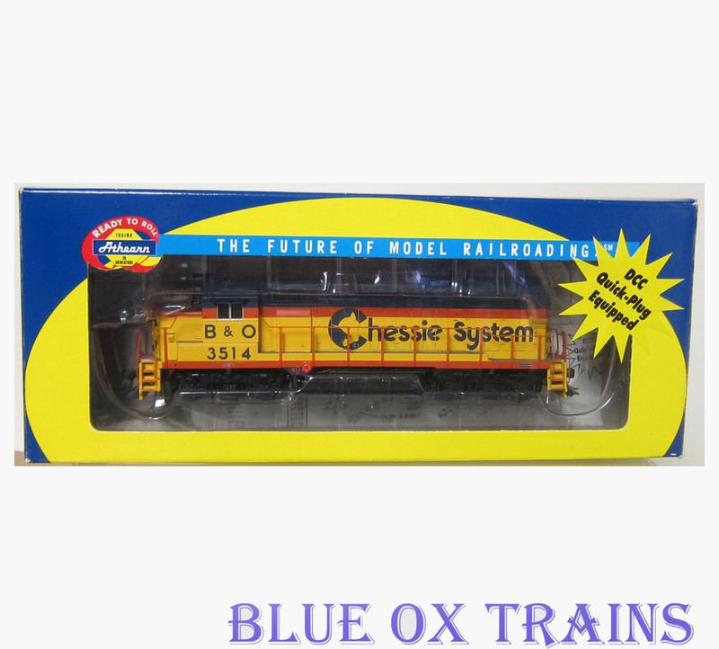 (Pre-Owned) Athearn RTR EMD GP35 Diesel Locomotive Chessie System B&O 3514 HO Scale