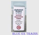 Calumet 513 Super Traction Tires Steam Assortment HO Scale