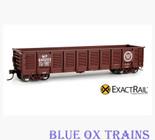 EXACTRAIL 1211-1 Missouri Pacific Gunderson 2420 Gondola MP 640203 HO Scale EX-1211-1