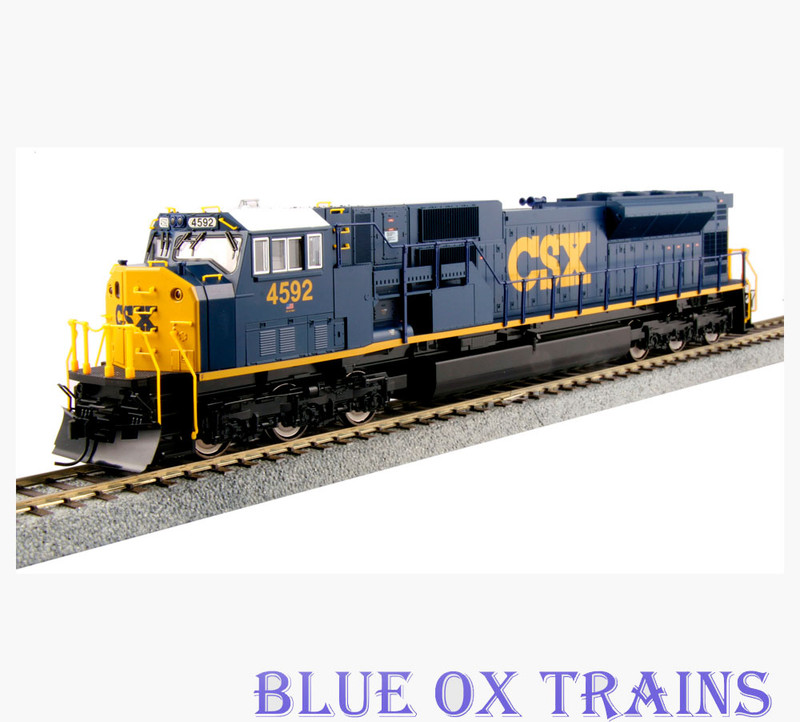 Kato HO 37-6372-LS CSX SD80MAC 4592 With ESU Sound & DCC HO Scale