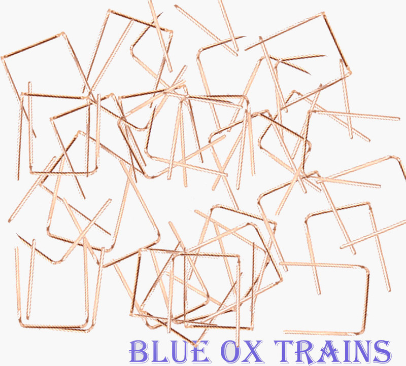 """Tichy Train Group 3015 18"""" Formed Wire Drop Type Grab Irons (100 Pack) HO Scale"""