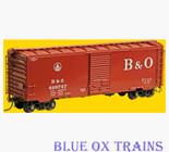 Kadee 4527 K106 HO Baltimore & Ohio 40' PS-1 Boxcar B&O 468747