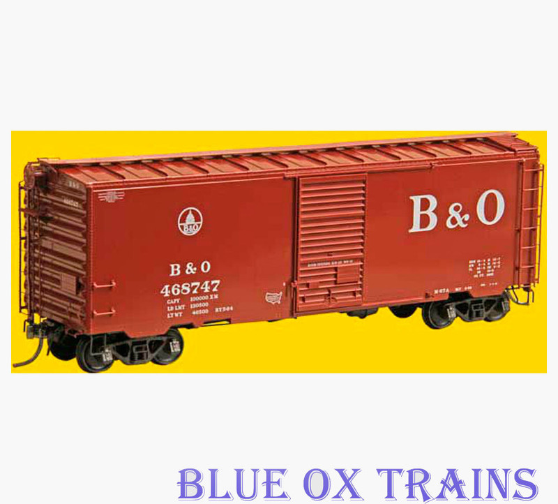 Kadee 4527 K106 HO Baltimore & Ohio 40' PS-1 Boxcar B&O 468747