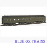Walthers 932-10553 CB&Q Pullman Heavyweight 10-1-2 Sleeper HO Scale
