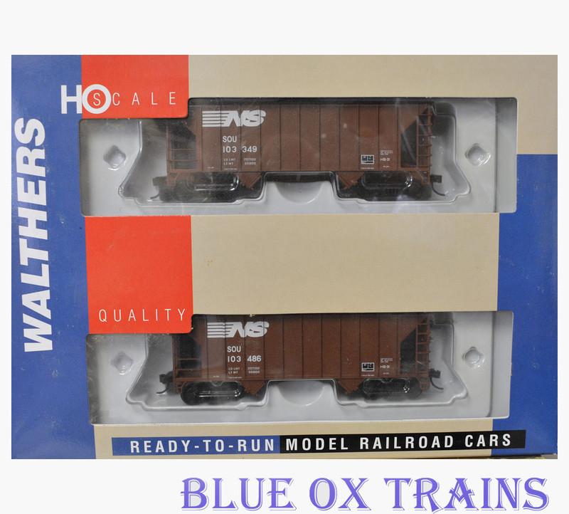Walthers 27401 Norfolk Southern Greenville 100 Ton Hopper NS/SOU 103486-103349 HO Scale